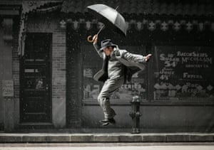 Singin' in the Rain the Theatre du Chatelet.