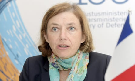 Florence Parly, France's defence minister