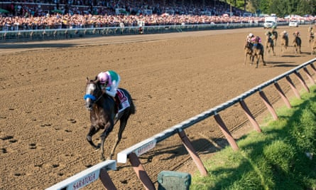 At Del Mar and Saratoga, above, this year, fatality rates were 2.42 and 1.81 per 1,000 starts respectively.