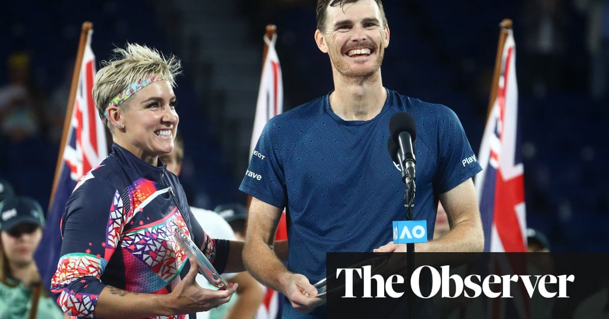 Salisbury last British hope as Jamie Murray denied at Australian Open