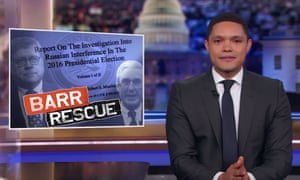 Trevor Noah: 'And in a way, this is almost comforting, because you realize that yes, Trump is corrupt enough to want to abuse his powers, but he's also too lazy to follow through.'