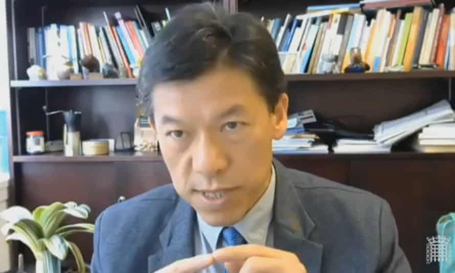 Prof Terry Lum of Hong Kong University tells a UK parliamentary select committee via videolink how Hong Kong has managed to achieve zero care home deaths