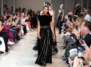 aac7307b60f7c Chanel, Dior and Naomi Campbell: highlights from haute couture – photo essay