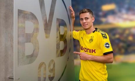 Borussia Dortmund sign Thorgan Hazard for £22.5m from Mönchengladbach