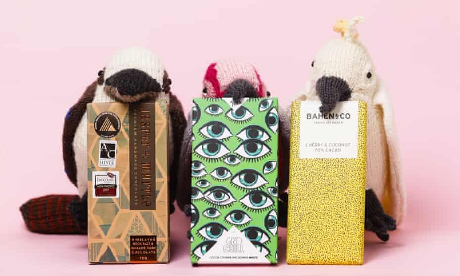 Australian chocolate with animal toys