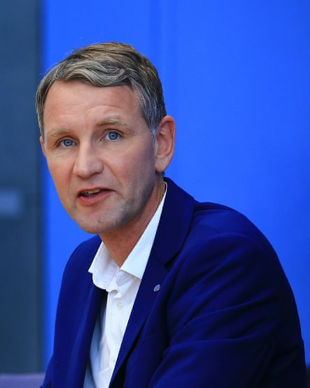 Björn Höcke, the founder of the most radical wing of the AfD