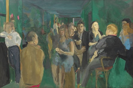 The Colony Room I, 1962, by Michael Andrews.