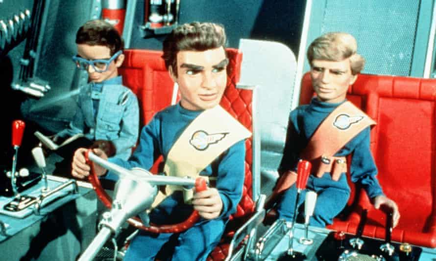 Thunderbirds:  Brains, Virgil Tracy and Gordon Tracy