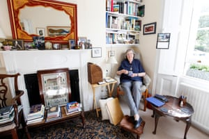 Penelope Lively at home in north London in 2014.