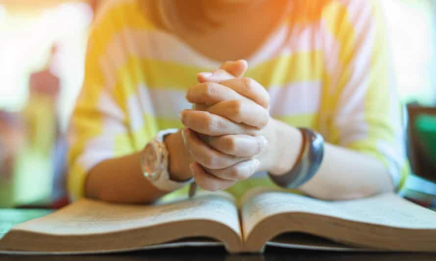 Just under half of those who pray said they believed God hears their prayers, which suggests a slim majority feel their supplications are not answered.