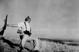 Death of a Loyalist militiaman, Córdoba front, 1936