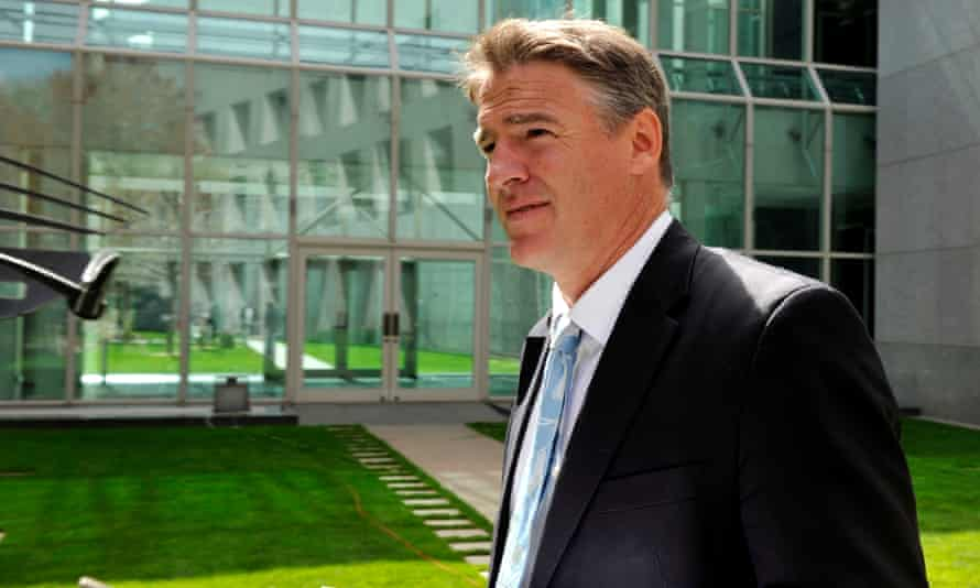 Rob Oakeshott at Parliament House in Canberra in 2012.