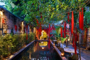Outdoor area at China House, Penang, Malaysia