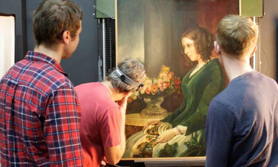 X-ray and UV analysis has revealed the painting is genuine but almost hidden under disastrous layers of later overpainting.