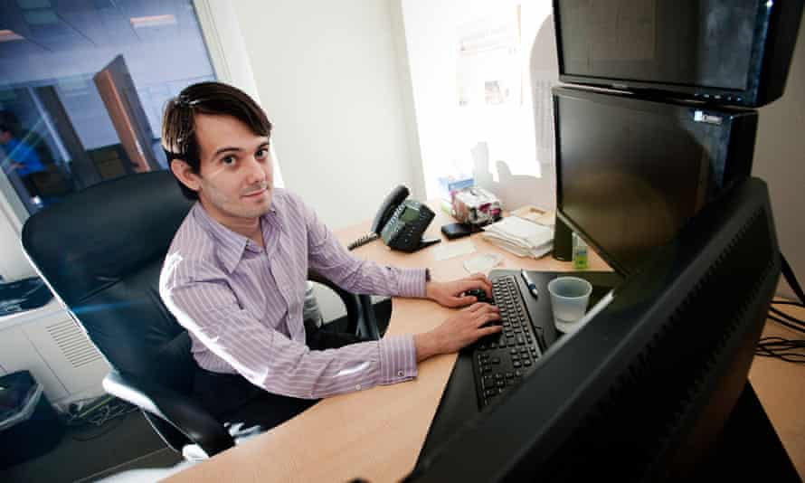 Martin Shkreli is a fan of punk and emo music