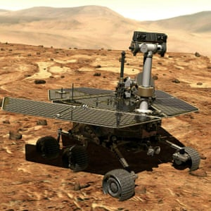 The Mars rover Opportunity