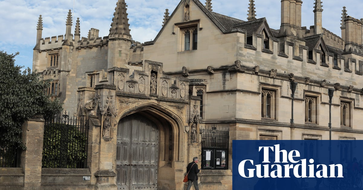 Oxford college's wealth boost exposes academia's haves and have-nots