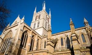 Southwark Cathedral, Southwark, London UK.