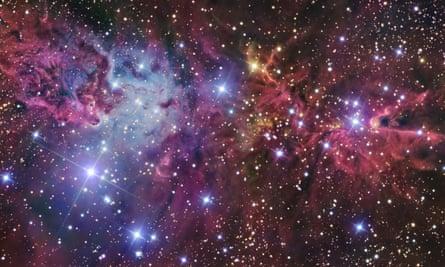 The Cone nebula, or NGC 2264