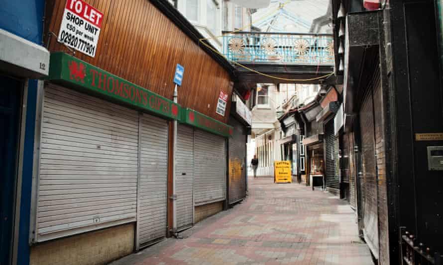 empty shops in NEwport