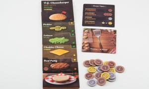 Card game Burger Up