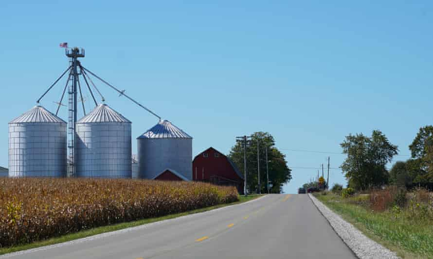 Two-lane rural roads will become part of a six-lane road system as part of the new infrastructure around the vast Foxconn project.