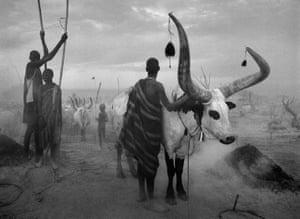 Dinka Cattle Camp at Kei. Southern Sudan 2006