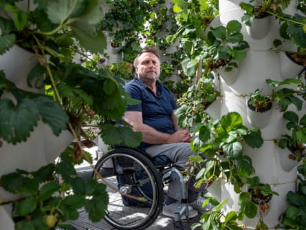 Aeroponic farming is 'virtuous', says Pascal Hardy.