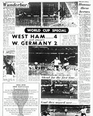Stratford Express, special edition, 31 July 1966