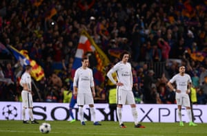 PSG players react to defeat in Barcelona