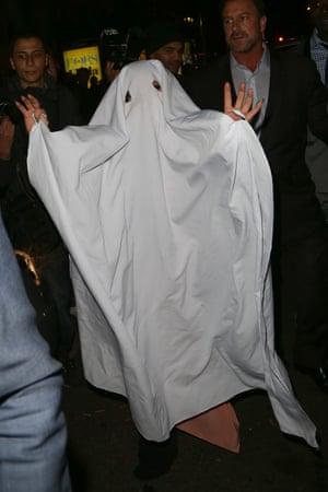 2014 Lady Gaga as a ghost