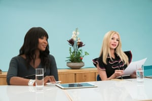 Naomi Campbell and Michelle Williams in I Feel Pretty.