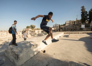 'I feel so much more free on the rooftops. The IDF and the police also bother us a lot less'