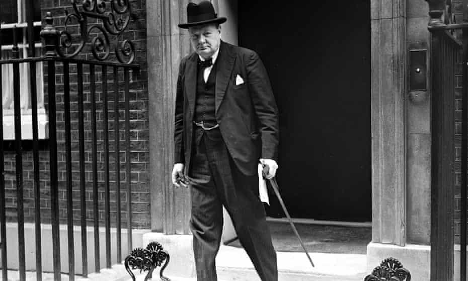 Break from the past … Winston Churchill in 1940