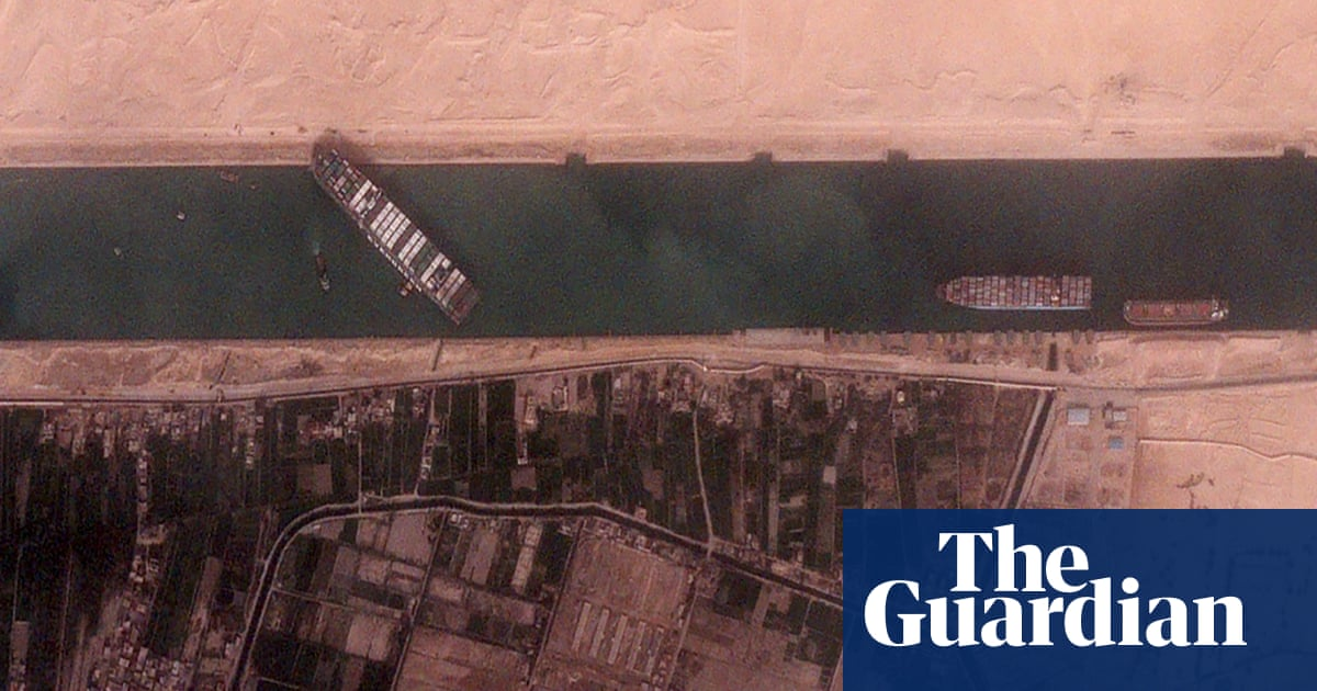 Muddy the waters: Egyptian authorities struggle with Suez canal blockage
