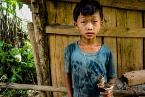 High up in the mountains of Sa pa, north-west Vietnam, I ran into this sweet boy who talked to me about his love for his two birds.