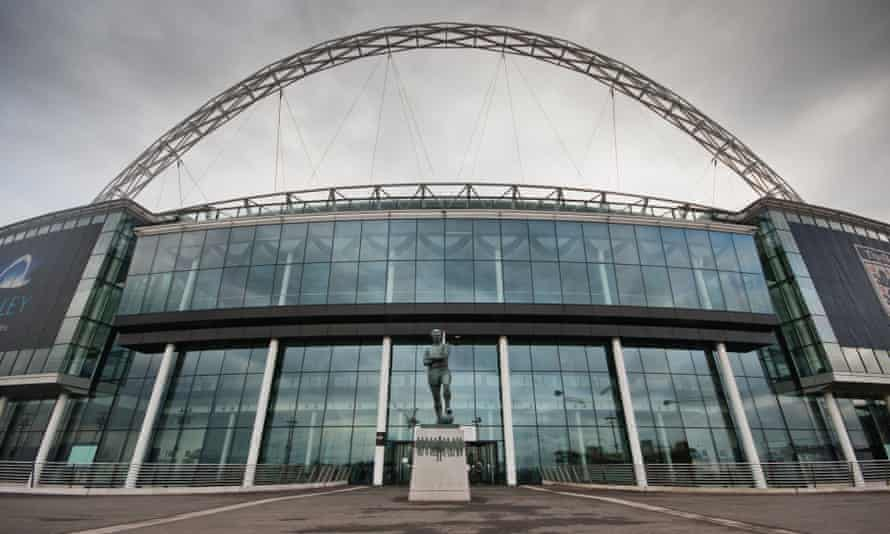 Wembley Stadium, home of the Football Association.