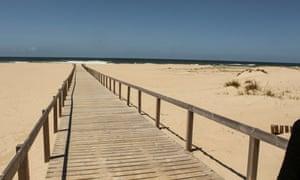 Дунас де Сао Хасинто, Авейру. Дикий путеводитель Португалия