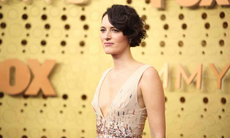Phoebe Waller-Bridge at the 71st Emmy Awards ceremony in Los Angeles.