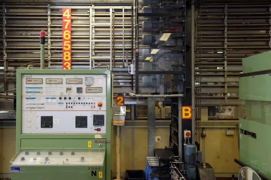 At the refurbished and determinedly analogue Polaroid factory in the Netherlands.