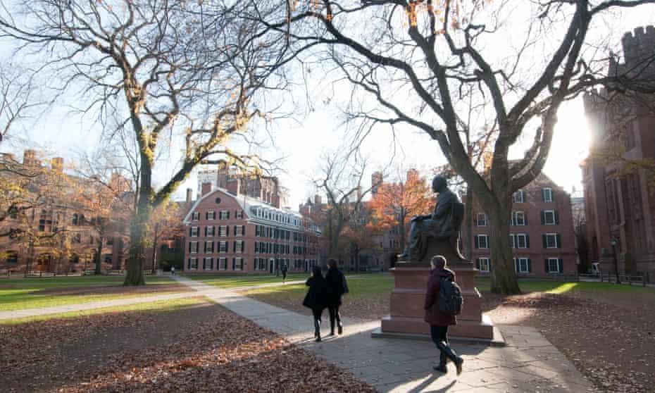 Yale University campus, New Haven, Connecticut.