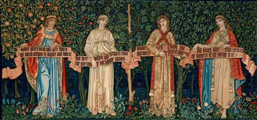 The Orchard, 1890 by William Morris.