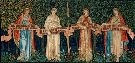 The Orchard (1890) by William Morris, John Henry Dearle, Morris & Co.