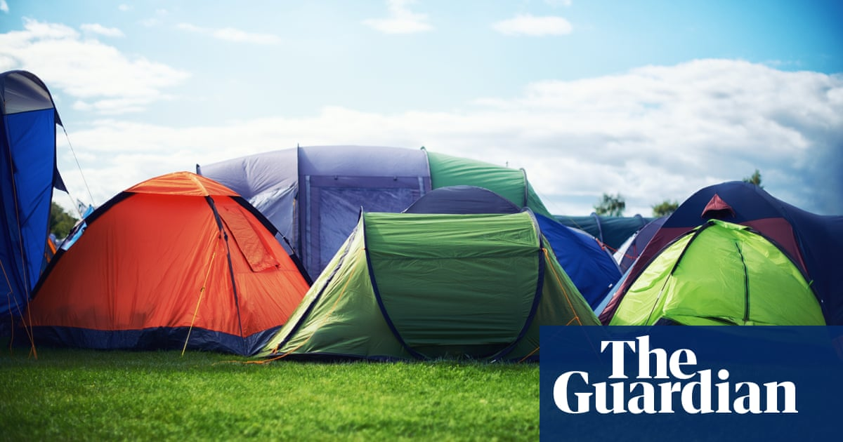 Tell us your stories of first-time camping holidays