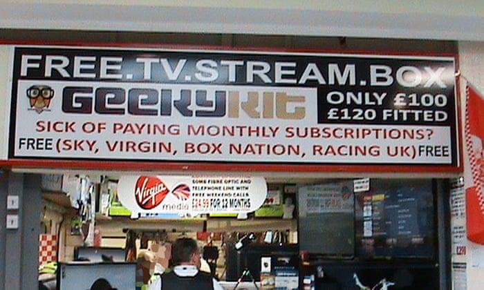 Trader who sold TV Kodi boxes enabling free streaming of paid