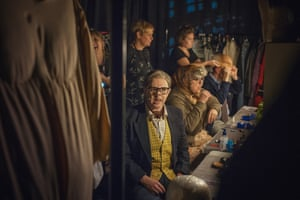 Behind the scenes of the last night of the last League of Gentlemen Live show at the Hammersmith Apollo