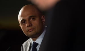 Sajid Javid, who will say small businesses are Britain's engine room.