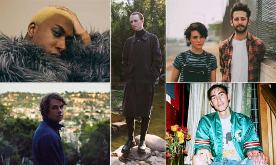 Brand New Things: (clockwise) Draq E Freaker, better Person, Diet Cig, Oscar and Kevin Morby