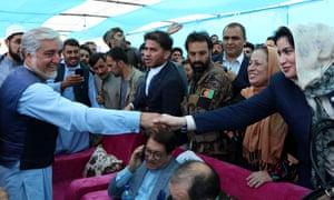 Abdullah campaigning in Herat
