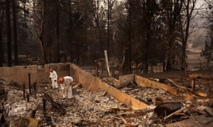 Santa Clara county sheriff's search and rescue teams continue search for missing Camp fire victims on Saturday.